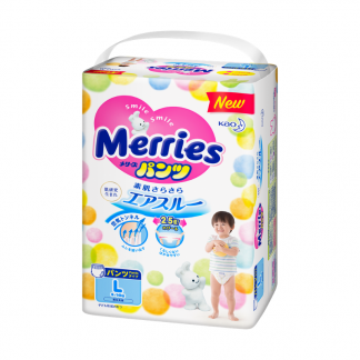Merries pants diapers