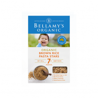 Bellamy brown rice pasta