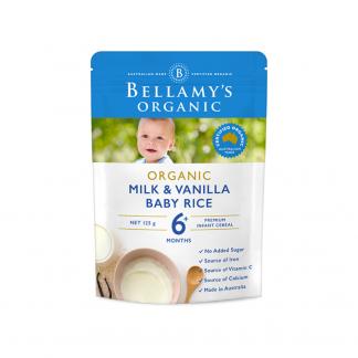 Bellamy milk rice