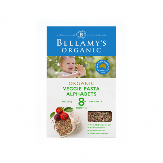 Bellamy veg pasta