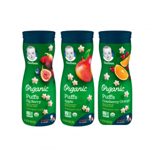 gerber organic puff