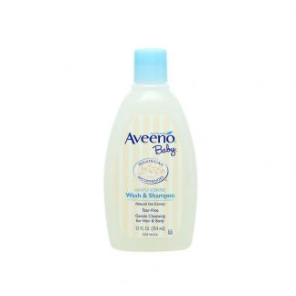 Aveeno baby shampoo and wash