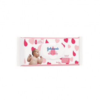 Johnson's baby skin care wipes