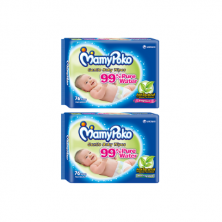Mamypoko cleansing wipes