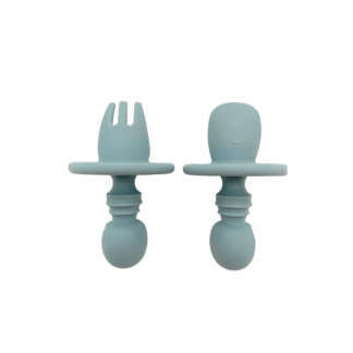 Arlowbubs Baby Silicone Fork and Spoon Fork and Spoon