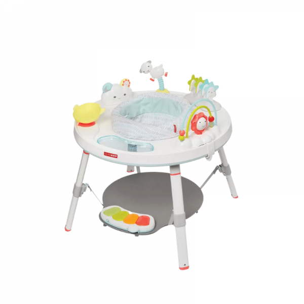 Skiphop silver lining cloud baby activity center