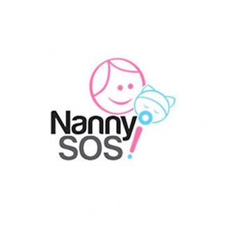 NannySOS confinement nanny agency logo